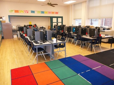 Rugs for calm classroom environment